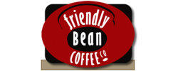 friendly bean coffee logo