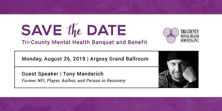 29th Annual Tri-County Mental Health Banquet and Benefit @ Grand Ballroom at Argosy Casino