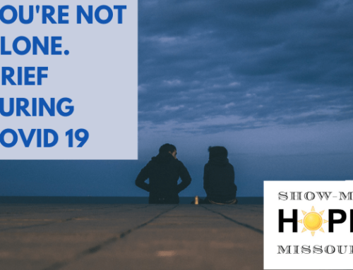 You're not alone. Grief during COVID-19.