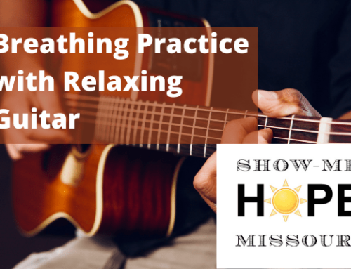 Breathing Practice with Relaxing Guitar