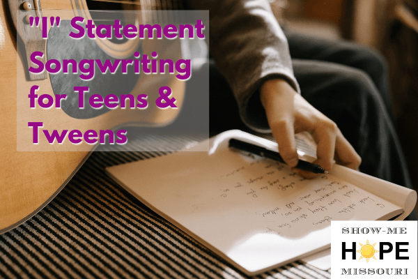 I statement songwriting for teens & tweens